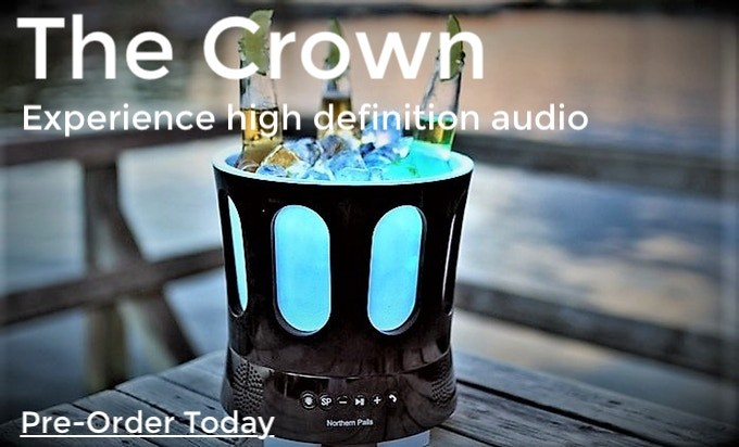 The Crown Bluetooth Speaker with High Definition 360 Degree Sound